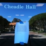 Student letters delivered to Cheadle Hall